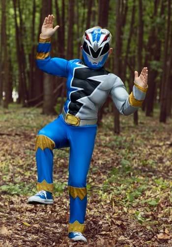 Power Rangers Dino Fury Blue Ranger Child Costume