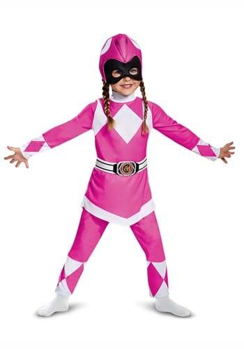 Power Rangers Pink Ranger Muscle Costume for kids