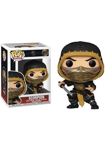 Funko POP Movies Mortal Kombat Scorpion Metal Figure