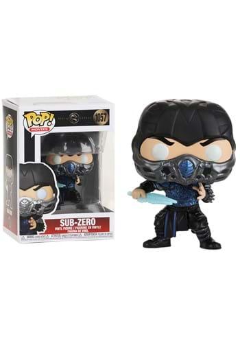 Funko POP Movies Mortal Kombat Sub Zero Metallic Figure UPD
