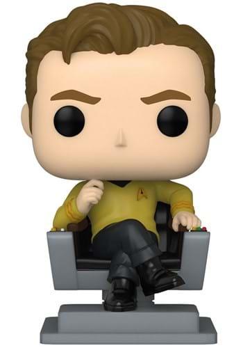 POP TV Star Trek Cap Kirk in Chair
