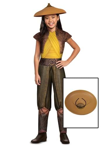 Raya and the Last Dragon Girls Classic Raya Costume