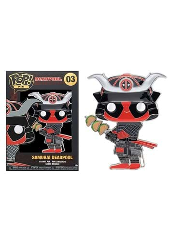 POP Pins Deadpool Friends Samurai Taco Deadpool