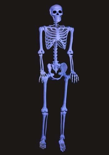 """60"""" Blacklight Ghostly Skeleton"""