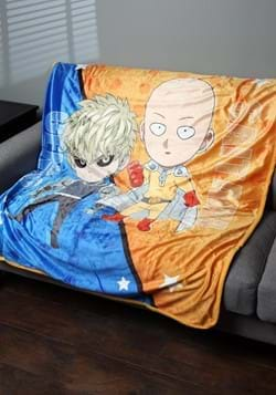 One Punch Man- SD Group Sublimation Throw Blanket