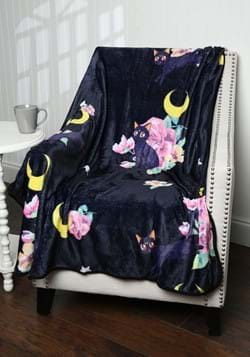 Sailor Moon Luna Throw Blanket