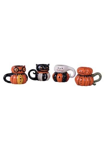 Set of 4 Johanna Parker Halloween Mugs