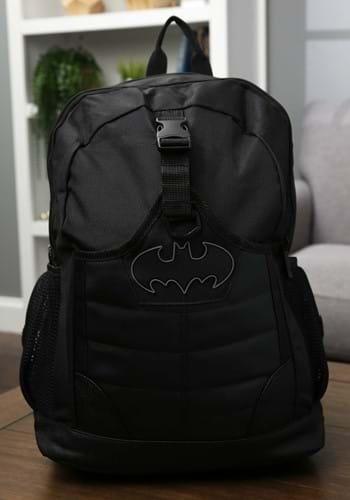 Black Batman Large Backpack-1