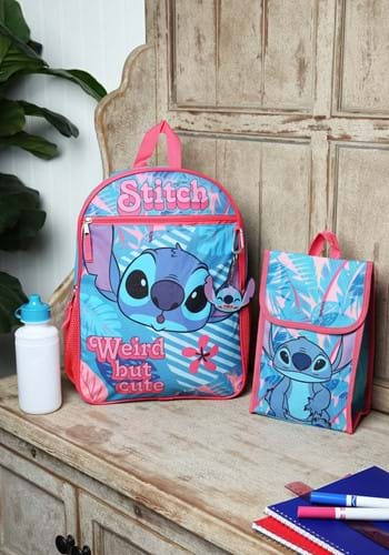 Lilo and Stitch 5 Piece Backpack Set-1