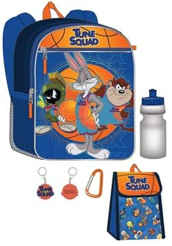 Space Jam 5 Pc Backpack Set