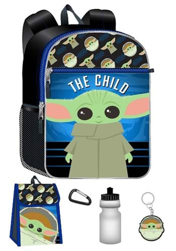 The Mandalorian Backpack 5 Piece Set