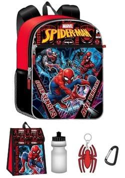 Spider Man 5 Pc Backpack Set
