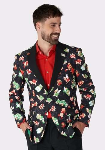 Opposuits Mens Super Mario Brothers Blazer