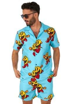 Pac-Man Mens Waka Waka Swimsuit and Shirt