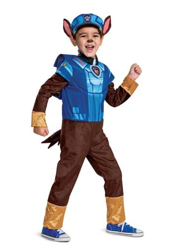 Paw Patrol Movie Chase Deluxe Toddler Kid's Costume