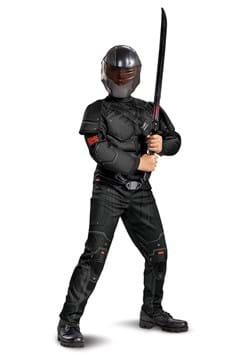 Boys Snake Eyes Movie Deluxe Costume