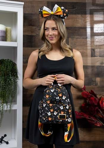 Loungefly Disney Spooky Mouse Mini Backpack and Headband
