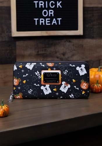 Loungefly Disney Spooky Mice Ziparound Wallet