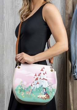 Loungefly Disney Snow White Castle Series Crossbody