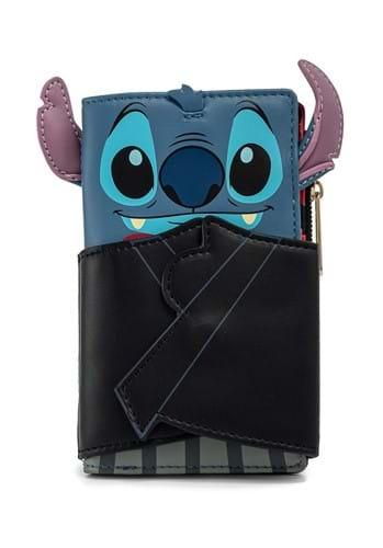 Loungefly Disney Vampire Stitch Bowtie Wallet