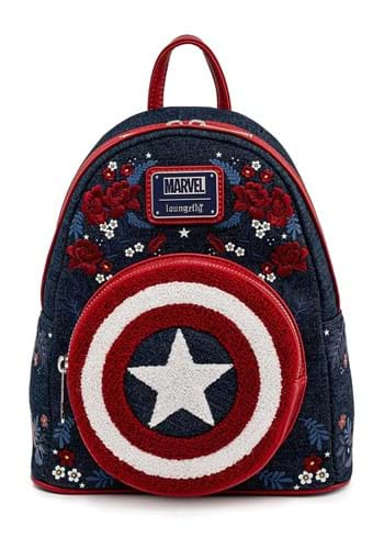 Loungefly Marvel Captain America 80th Anniversary Backpack