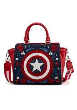Loungefly Marvel Captain America 80th Anniversary Bag