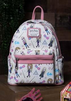 Loungefly Harry Potter Luna Lovegood AOP Mini Backpack