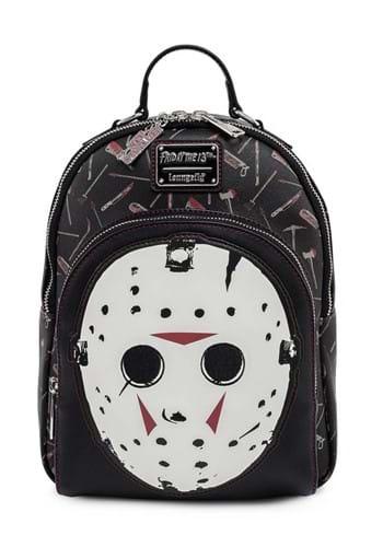 Loungefly Friday the 13th Jason Mask Mini Backpack