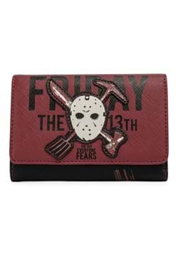 Loungefly Friday the 13th Jason Mask Trifold Walle