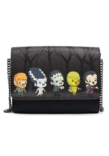 Loungefly Universal Monsters Chibi Line Chain Strap