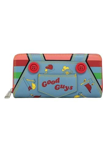 Loungefly Childs Play Chucky Cosplay Ziparound Wallet