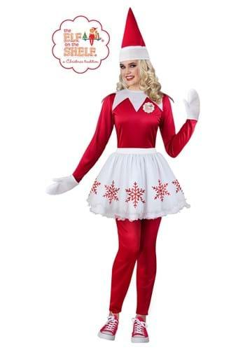 Womens Elf on the Shelf Costume