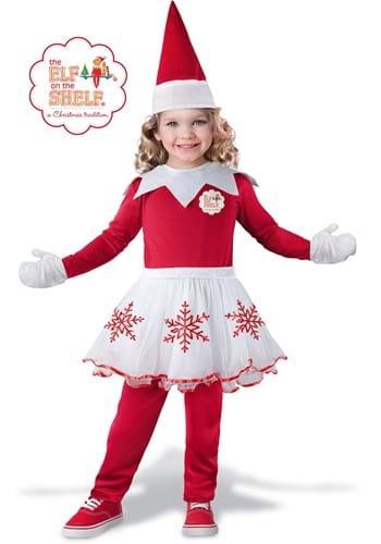 Girls Elf on the Shelf Toddler Costume