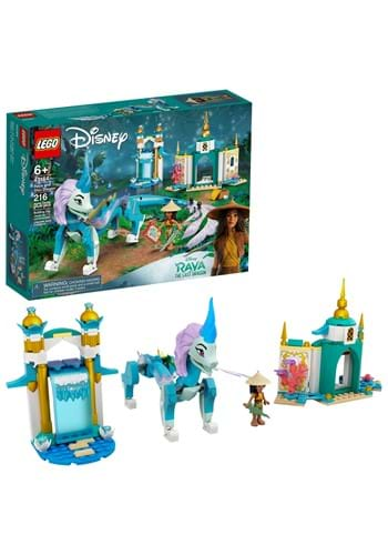 LEGO Raya and the Last Dragon Raya and Sisu Dragon