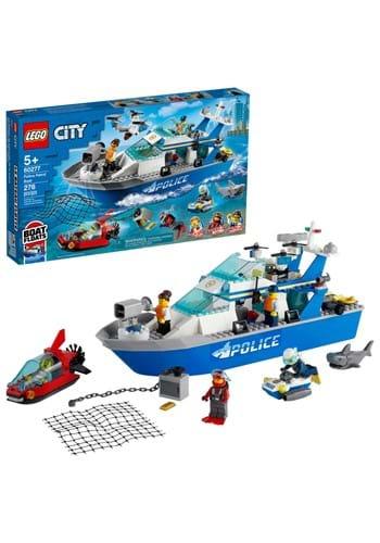 LEGO Police Patrol Boat Set