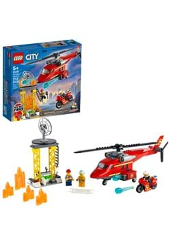 LEGO CITY Fire Rescue Helicopter Set