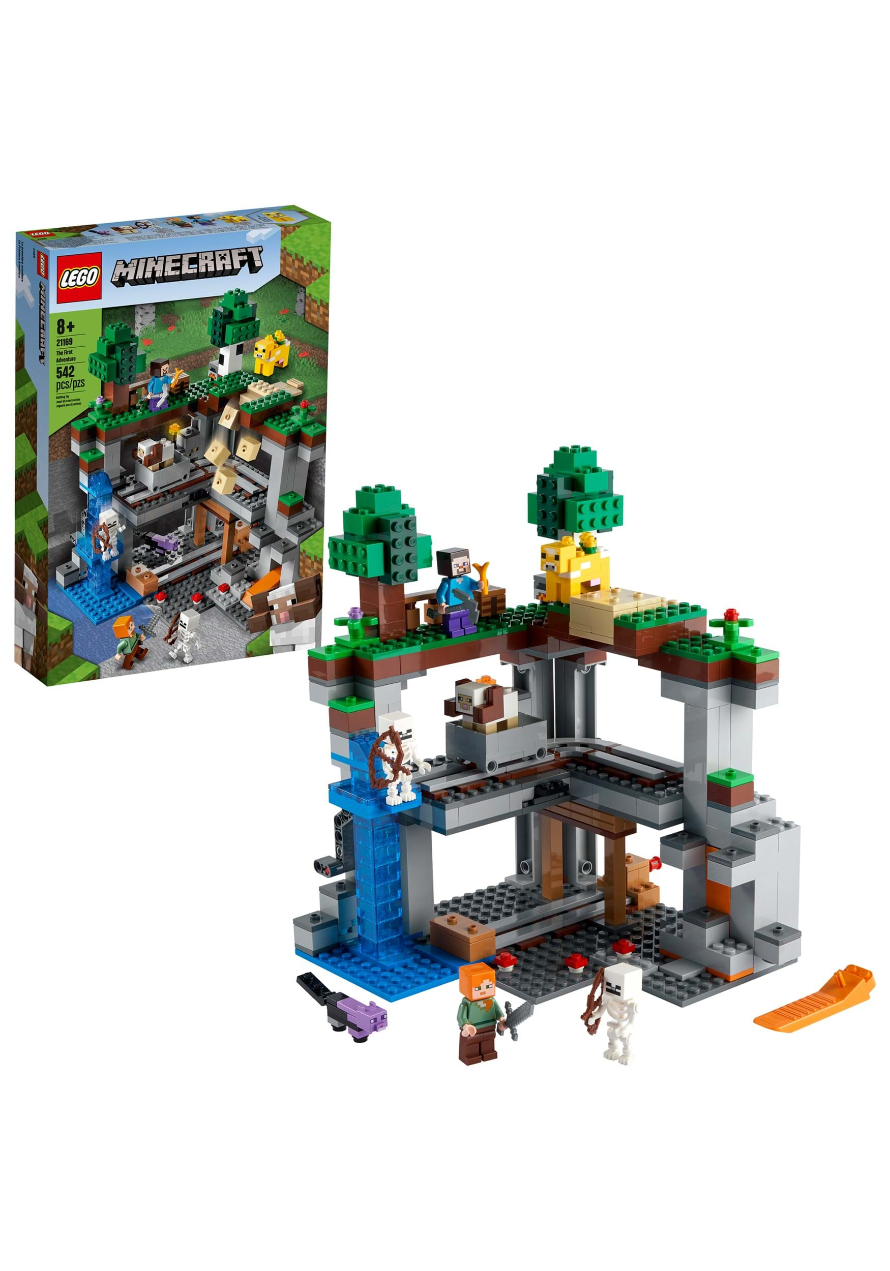 Minecraft The First Adventure from LEGO