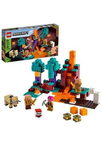 LEGO Mincraft The Warped Forest