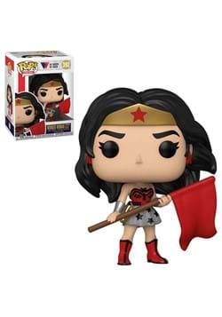 Funko POP Heroes WW 80th Wonder Woman Superman Red Son