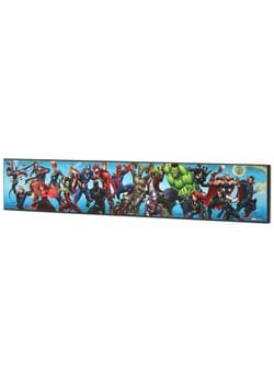 Marvel Heroes Collage Wood Wall Decor