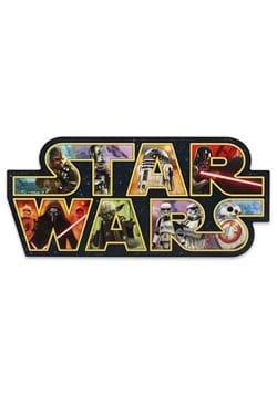 Star Wars Logo Collage Wood Wall Decor