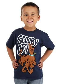 Scooby Doo Blue Kids T Shirt