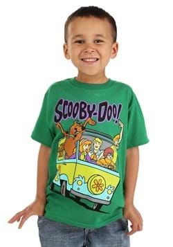 Scooby Doo Mystery Machine Kids T Shirt