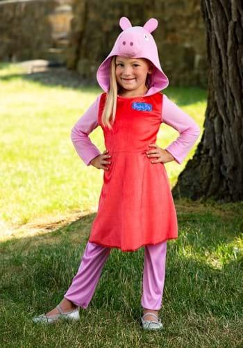 Peppa Pig Girls Long Sleeve Costume-2