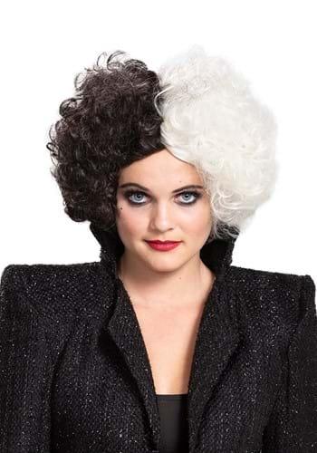Cruella Live Action Adult Wig