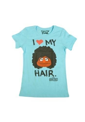 Sesame Street Love My Fro T-Shirt for Women