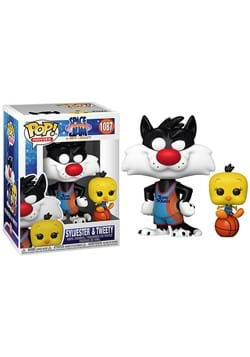 Funko POP and Buddy Space Jam Sylvester and Tweety