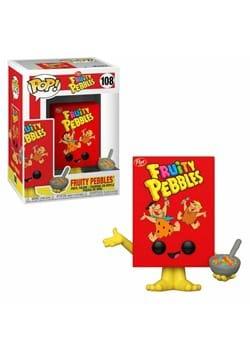 POP Funko Post Fruity Pebbles Cereal Box