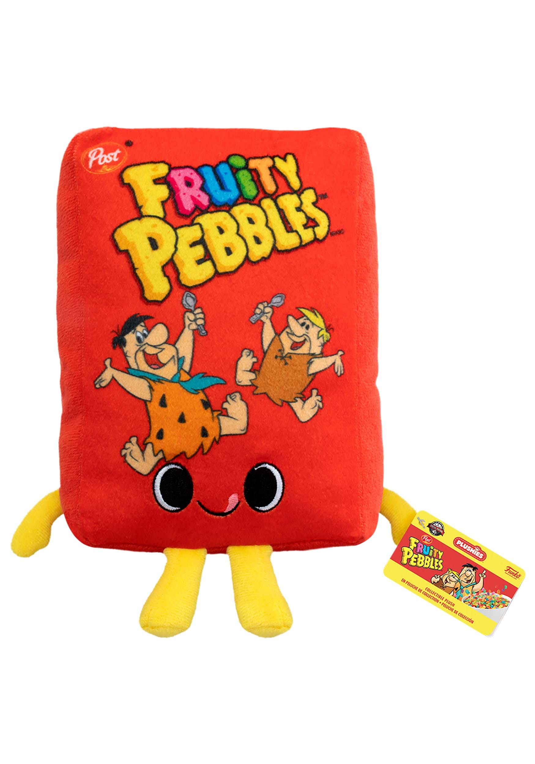 Funko Fruity Pebbles Post Cereal Box Stuffed Toy