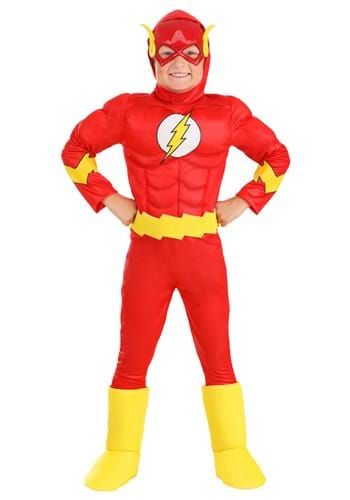 Flash Classic Deluxe Kids Costume upd